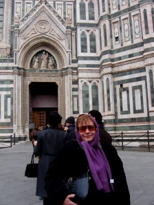 Janice in Italy